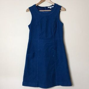 Boden Blue Victoria Dress WH693 sz6R
